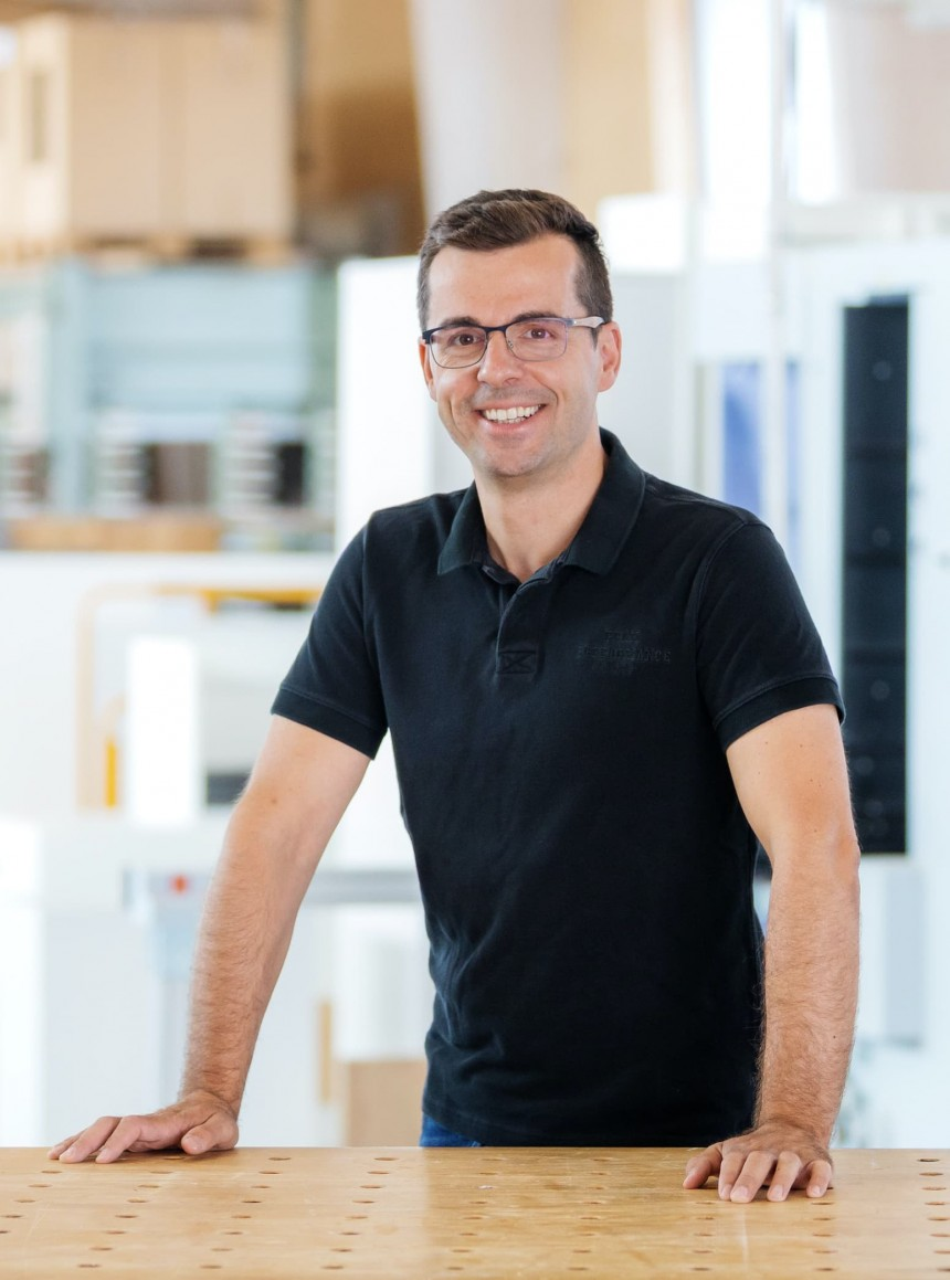 Portrait von Bastian Wahl, Geschäftsführer von NR Küchen aus Schwäbisch Hall