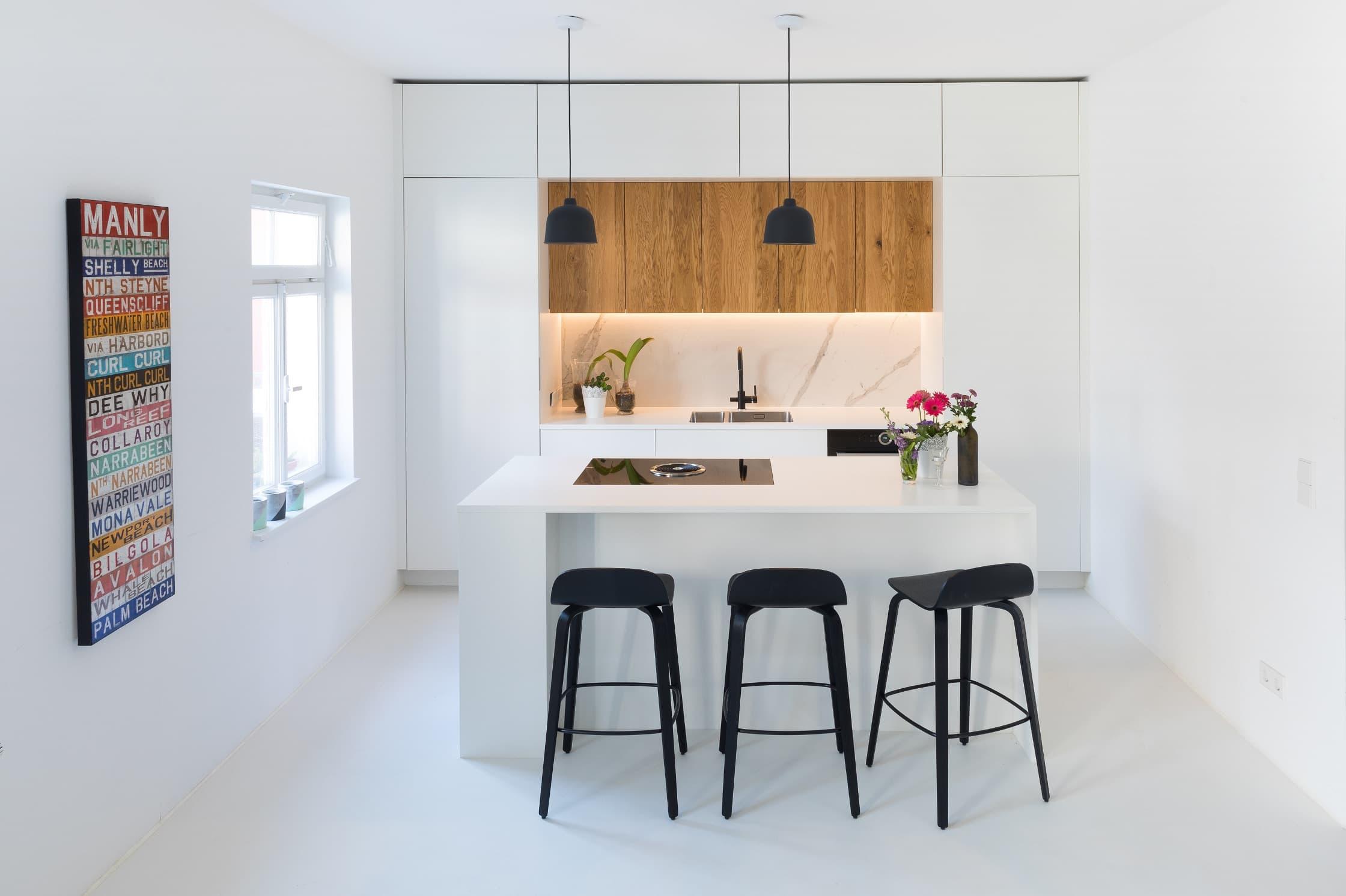 Eine kleine Küche