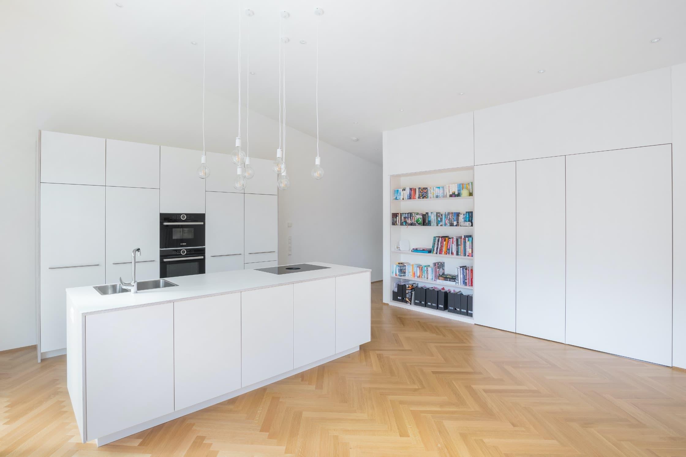 Eine offene Küche