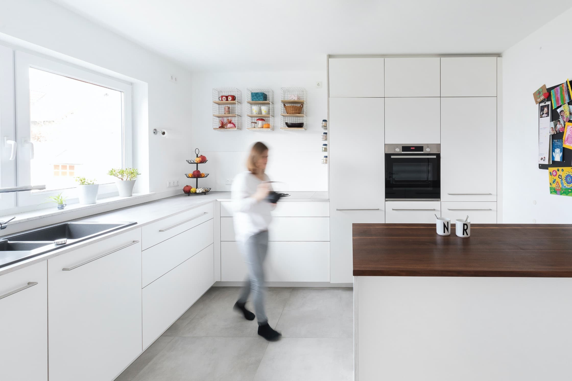 Küche des Kunden