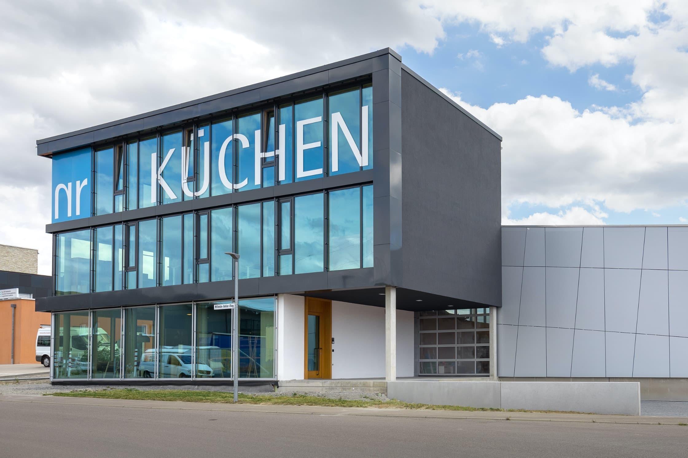 NR Küchen Showroom und Produktion in Schwäbisch Hall